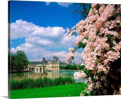 France, Fontainebleau, palace