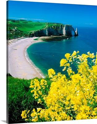 France, Haute-Normandie, Etretat, coast