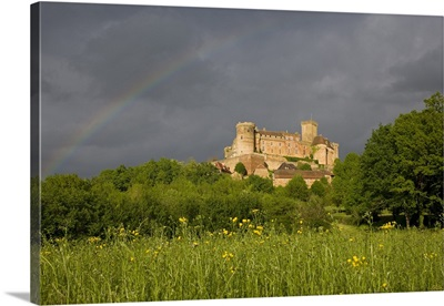 France, Midi-Pyrenees, Lot, Prudhomat, Chateau de Castelnau-Bretenoux
