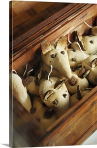 France Nord Pas De Calais Pastry Mice Cheese Decorations Fromagerie Caseus
