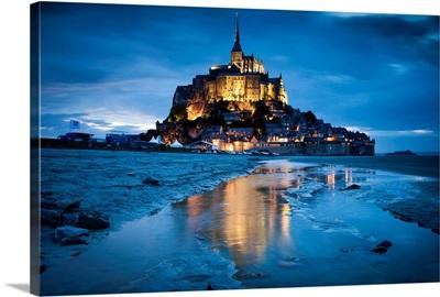 France, Normandy, English Channel, Basse-Normandie, Mont Saint-Michel