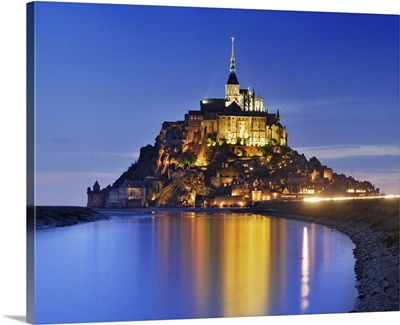 France, Normandy, Mont Saint-Michel, English Channel, Basse-Normandie