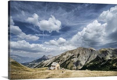 France, Provence-Alpes-Cote d'Azur, Alpes-de-Haute-Provence, Col d'Allos