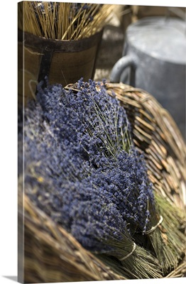 France, Provence-Alpes-Cote d'Azur, Sault, Lavender bottles