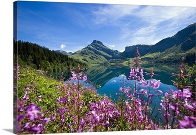 France, Rhone-Alpes, Beaufort, The Lac de Roselend