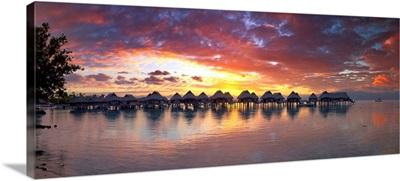 French Polynesia, Society Islands, Oceania, Pacific ocean, Moorea, Beach