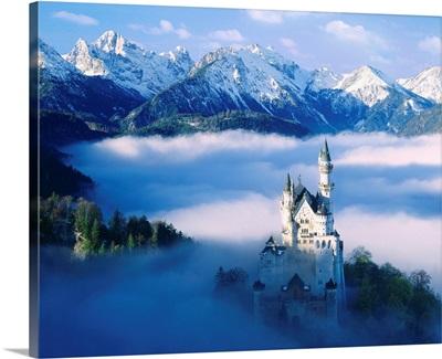 Germany, Alps, Bavaria, Neuschwanstein Castle