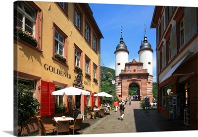 Germany, Baden-Wurttemberg, Heidelberg, old bridge