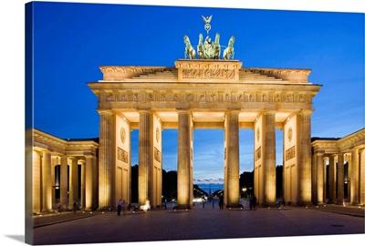 Germany, Berlin, The Brandeburg Gate