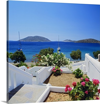 Greece, Aegean islands, Dodecanese, Astypalaia island, Mediterranean sea, Maltezana bay
