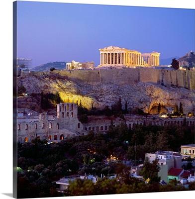 Greece, Athens, Acropolis, Parthenon