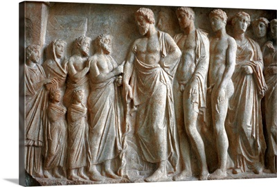 Greece, Athens, National Archaeological Museum, basrelief