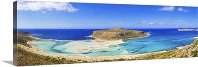 Greece, Crete, Chania, Gramvousa, Balos bay and Gramvoussa island