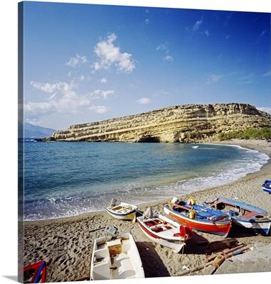 Greece, Crete, Iraklion, Matala, Mediterranean area, Mediterranean sea