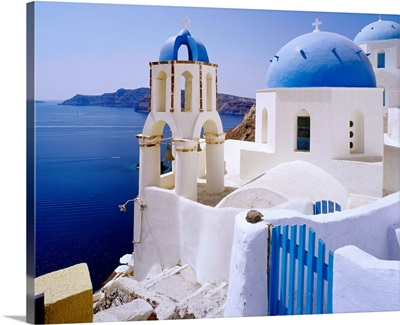 Greece, Cyclades, Santorini, Oia, church