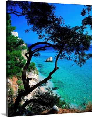 Greece, Lefkada, Beach