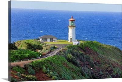 Hawaii, Tropics, Kauai island, Kilauea Lighthouse