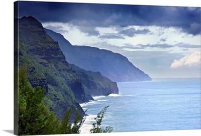 Hawaii, Tropics, Kauai island, Na Pali Coast, Na Pali Coast