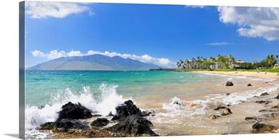 Hawaii, Tropics, Pacific ocean, Maui island, Kihei beach