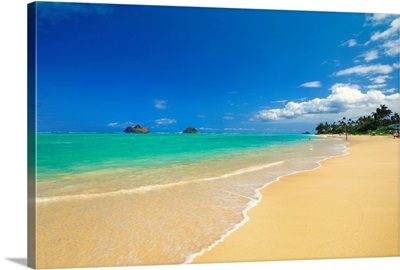 Hawaii, Tropics, Pacific ocean, Oahu island, Kailua, Lanikai beach