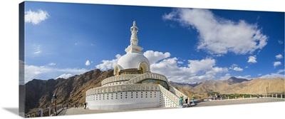 India, Jammu and Kashmir, Himalaya, Ladakh, Leh, Shanti Stupa