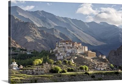India, Jammu and Kashmir, Indus Valley, Ladakh, Likir gompa and village, Indus Valley