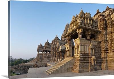 India, Madhya Pradesh, Khajuraho Temples, Devi Jagadamba Temple, Western Group