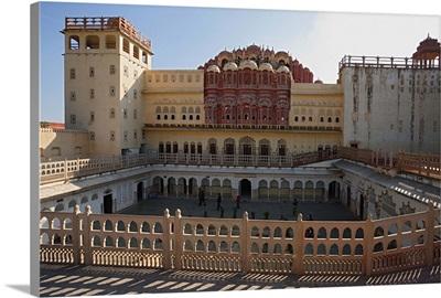 India, Rajasthan, Jaipur, Palace of Winds