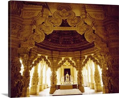 India, Rajasthan, Jaisalmer, Jain Temples, the inside