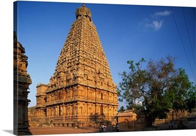 India, Tamil Nadu, Thanjavur, Brihadeshwara Temple