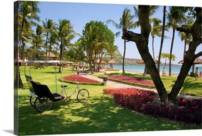 Indonesia, Bali, Jimbaran, Intercontinental Hotel, gardens