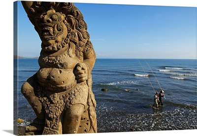 Indonesia, Bali, View from Pura Pulaki temple
