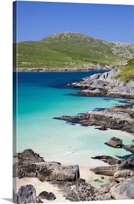 Ireland, Cork, Beara Peninsula, landscape near Crow Head