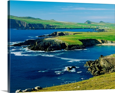Ireland, County Kerry, Clogher Head, landscape