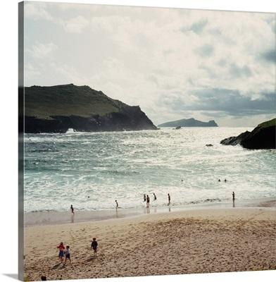 Ireland, County Kerry, Kilmalkedar, the beach