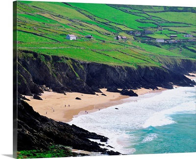 Ireland, County Kerry, Slea Head, the south west point of the peninsula