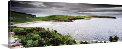 Ireland, Donegal, Coastal landscape, in the Slieve League cliffs area