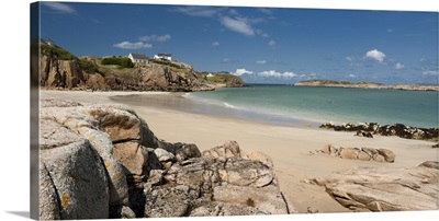 Ireland, Donegal, The Rosses, beach of Cruit Island