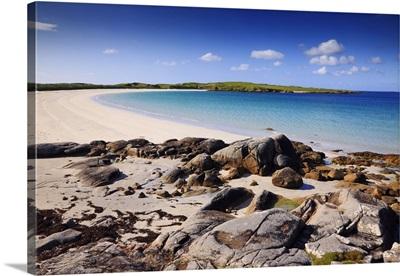 Ireland, Galway, Connemara, Roundstone, Dog's Bay and it's beach