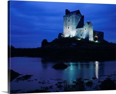 Ireland, Galway, Dunguaire Castle near Kinvarra village