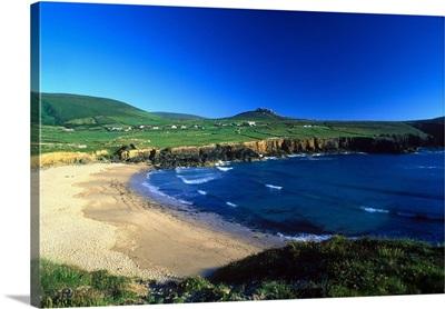 Ireland, Kerry County, Dingle Peninsula, Beach near Clogher Head
