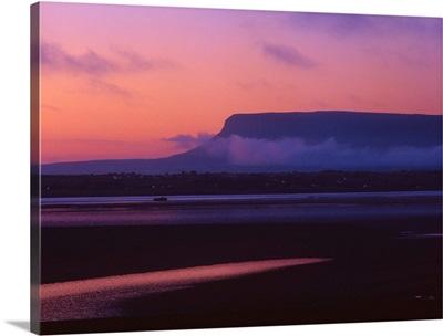 Ireland, Sligo, Ben Bulben mountain