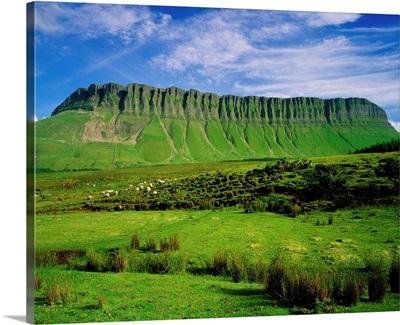 Ireland, Sligo, Benbulben Mount near Sligo town