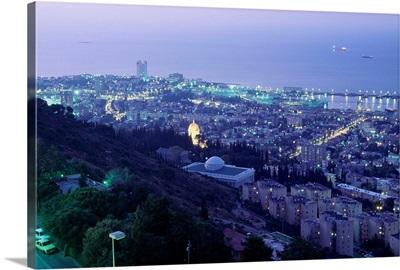 Israel, Haifa, Cityscape