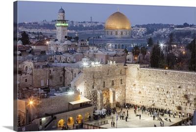 Israel, Jerusalem, Western Wall, Wailing Wall