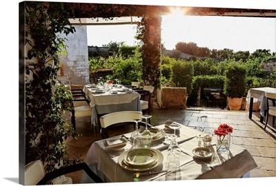 Italy, Apulia, Itria Valley, Fasano, Masseria Torre Maizza Luxury Hotel