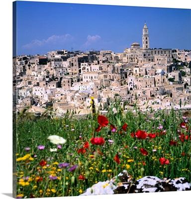 Italy, Basilicata, Matera, The Stone of Matera