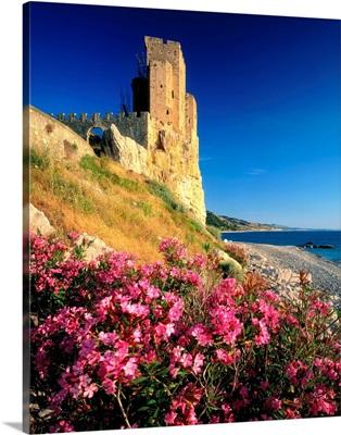 Italy, Calabria, Capo Spulico, Castle