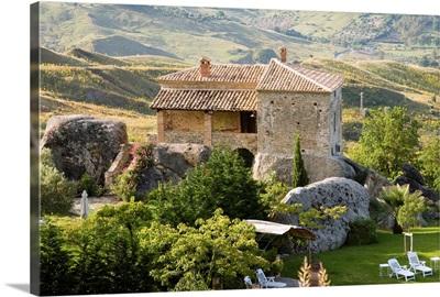 Italy, Calabria, Roccella Ionica, Agriturismo Pietra di Fonte