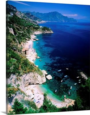 Italy, Campania, Amalfi Coast, Conca dei Marini, coastline